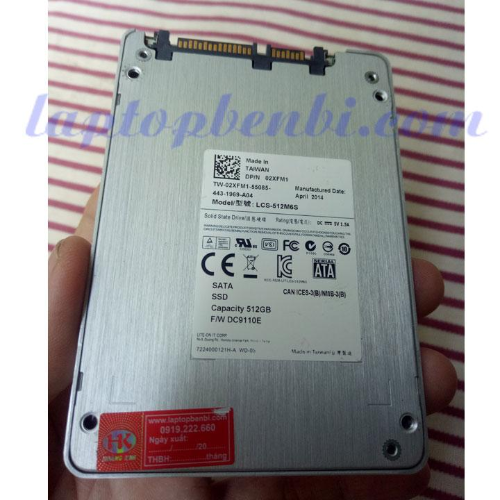 Ổ cứng laptop 512GB SSD Lite-On 2.5inch
