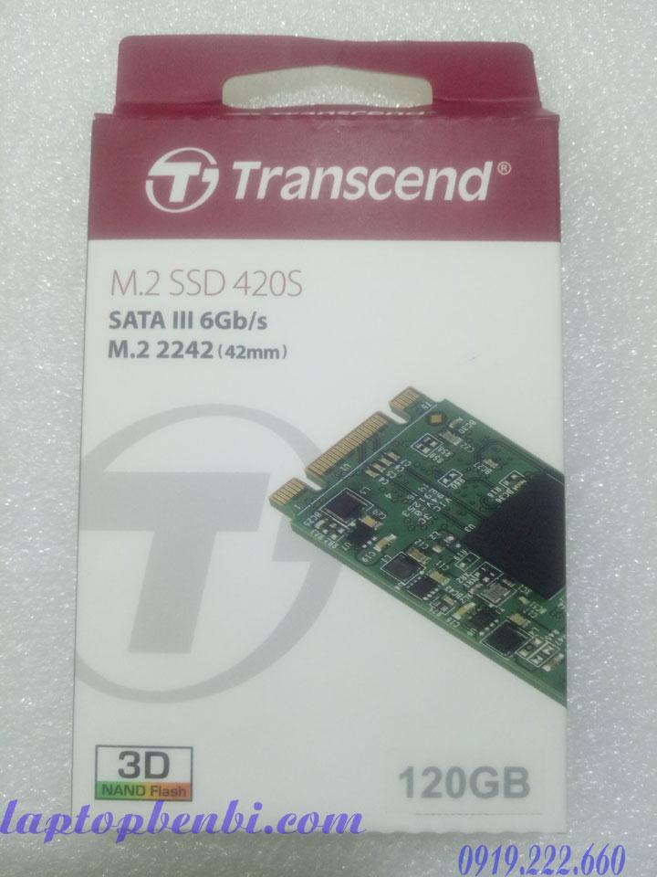Ổ cứng laptop SSD M.2 2242 120GB Transcend